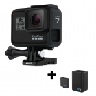 GoPro Hero7 Black + chargeur double & batterie