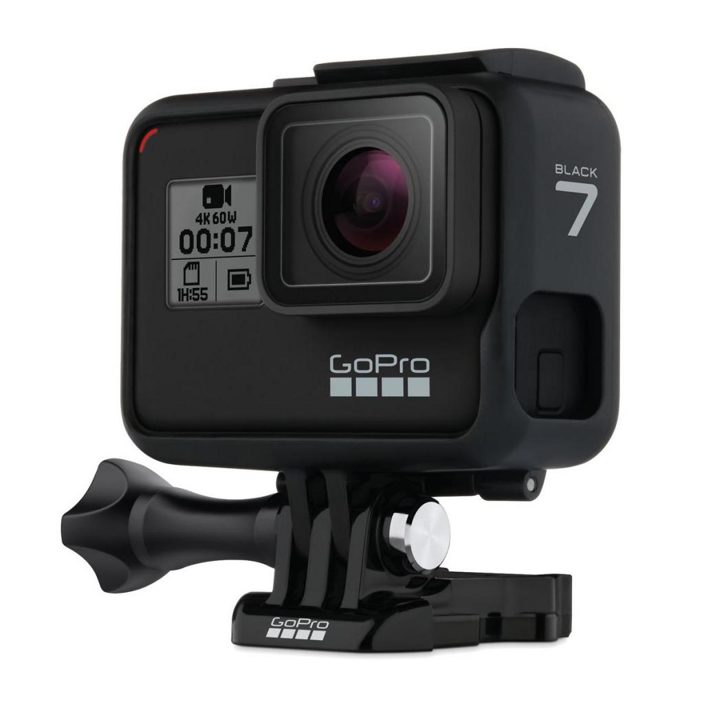 Caméra GoPro Hero7 Black et son cadre de fixation the Frame