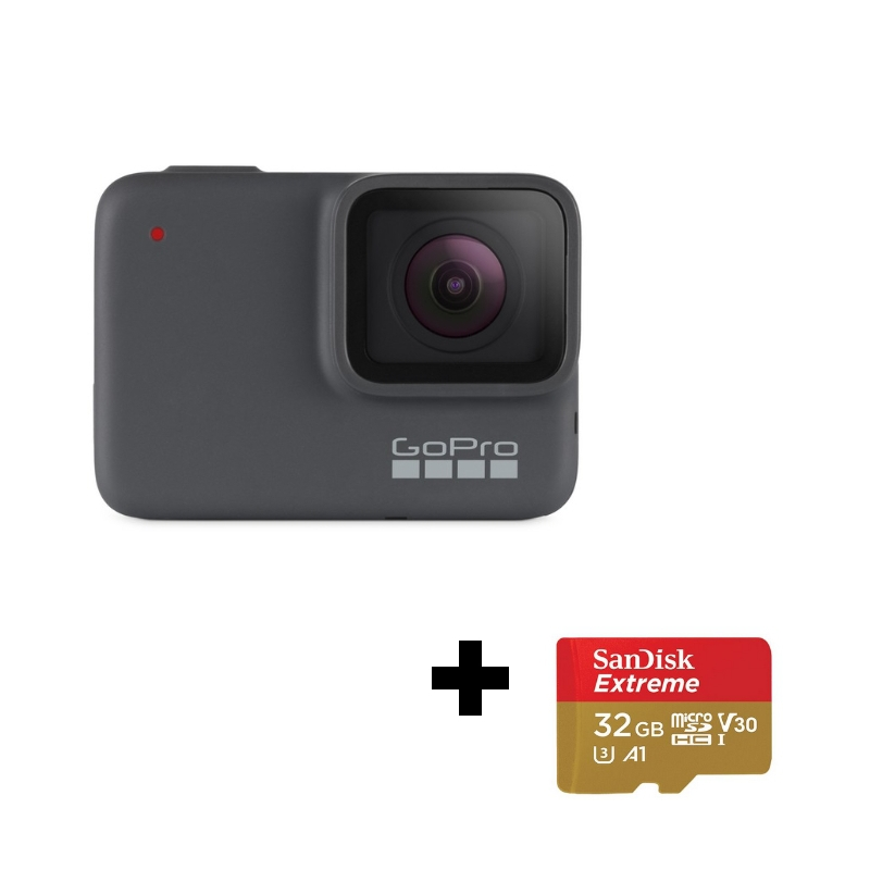 Carte Sd.Gopro Hero7 Silver Carte Sd 32go Offerte