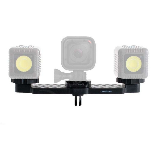 GoPro Mounting Bar for 2 Lume Cubes