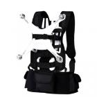 Harnais de transport + sacoche pour DJI Phantom 4 avec le drone monté dessus et les différents accessoires