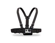 Fixez votre GoPro en Harnais ou sur votre épaule<br />