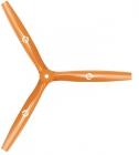 Hélice tripale orange 13x12 - MasterAirScrew