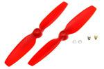 Hélices BLADE 200QX rouges