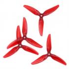 Hélices DP 5x4.5x3V1S Polycarbonate rouge