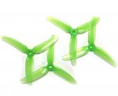 Hélices DP 5x4.5x3V1S Polycarbonate verte