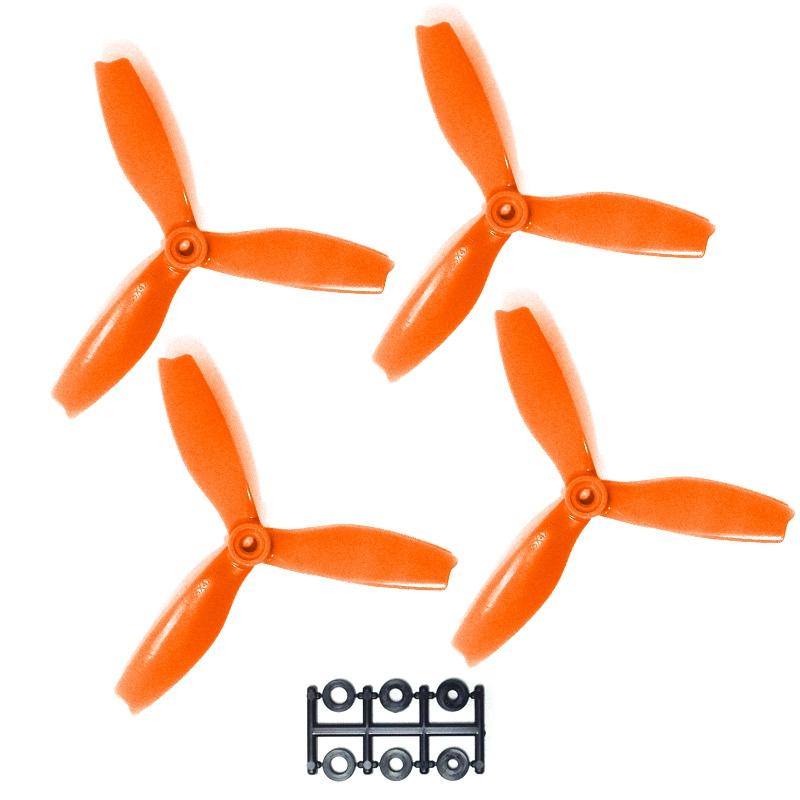 hélices DPS 5X4X3 HQProp Oranges