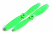 2 hélices GemFan 5x4.5 bullnose anti-horaires - Vert