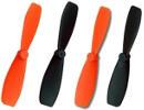 Hélices Ladybird compatibles Hubsan X4