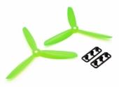 Hélices Tripale Anti-Horaires GemFan 5045 Vert
