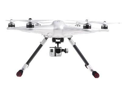 Le drone Walkera Tali H500 RTF est disponible en version blanche, avec sa nacelle G-3D et sa radiocommande DEVO F12E.