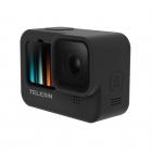 Housse en silicone noire pour GoPro Hero9 Black - Telesin