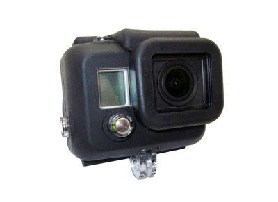 Housse silicone  pour caisson GoPro HD3