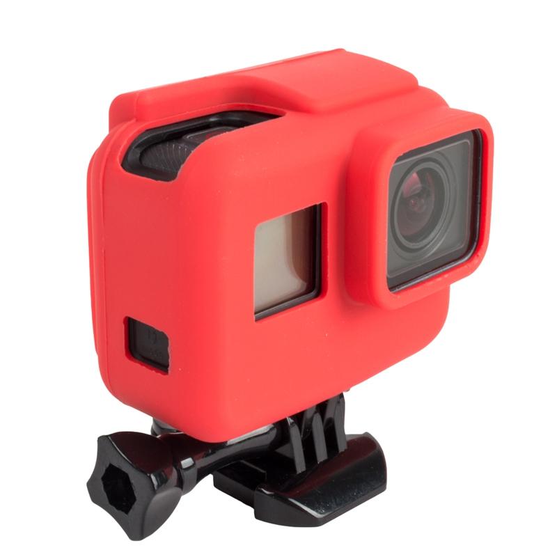 Housse silicone GoPro Hero5 Black & cadre de fixation