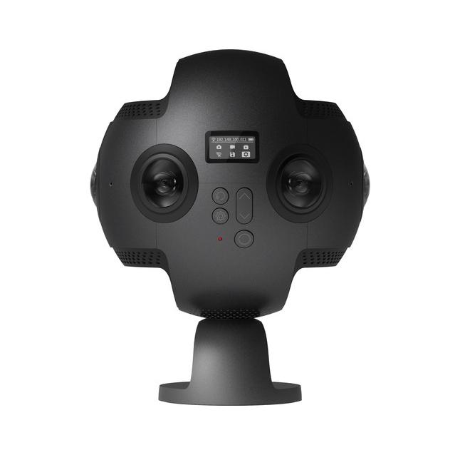 Insta360 Pro 8k Camera vue de biais