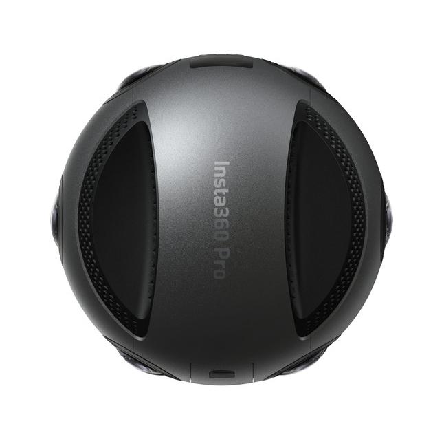 Insta360 Pro 8k Camera vue de haut