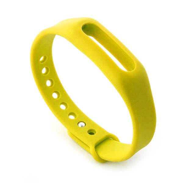Bracelet de rechange jaune pour MiBand - Xiaomi