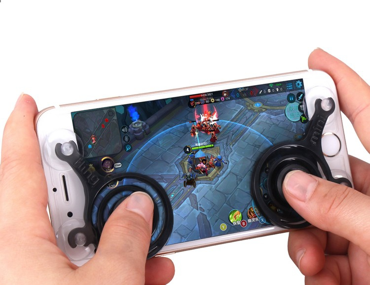 Joysticks pour DJI Spark & Mavic Pro utilisés sur un smartphone