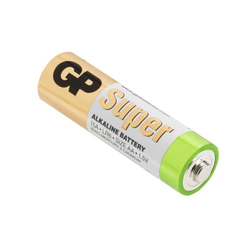 Kit de 20 piles AA alcalines Super - GP