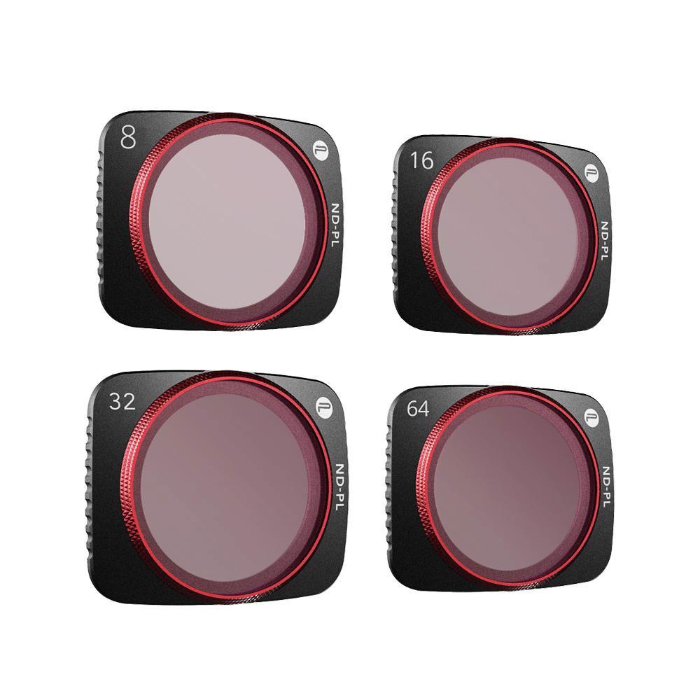 Kit de 4 filtres ND-PL professionnels pour DJI Air 2S - PGYTECH