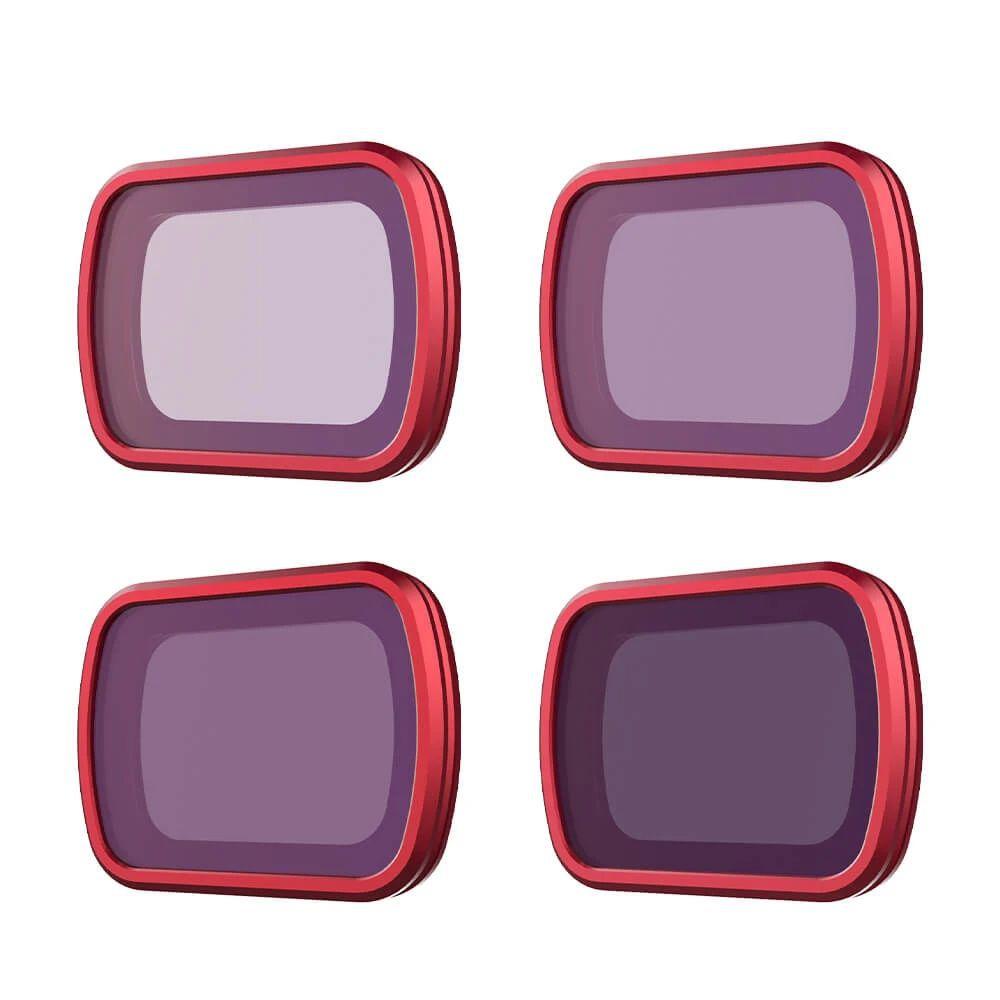 """Kit de 4 filtres ND8-64 \""""Professional\"""" pour DJI Pocket 2 - PGYTECH"""