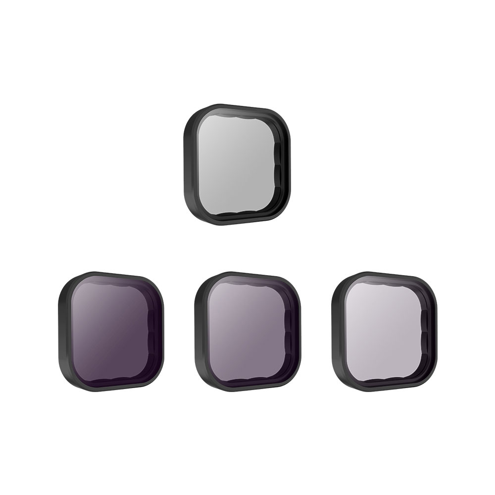 Kit de filtres ND et CPL pour GoPro Hero9 Black - Telesin