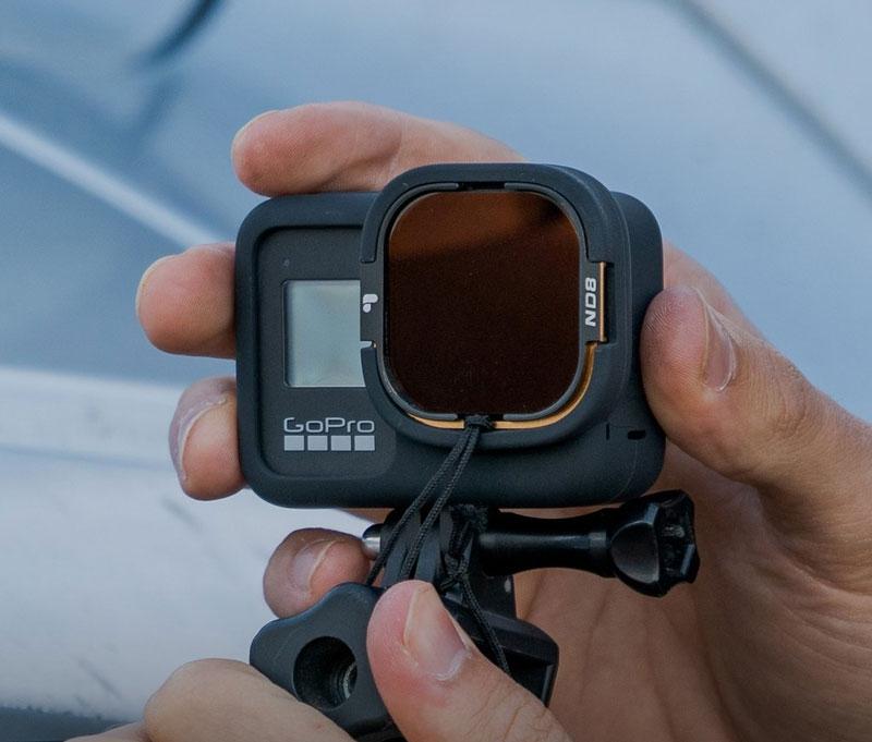 Kit de filtres Shutter Collection pour pour GoPro Hero8 et Rollcage - PolarPro