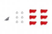 Kit de serrage rotatif de couleur rouge Gammes Matrice 600