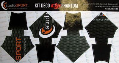Kit déco studioSPORT pour la gamme DJI phantom