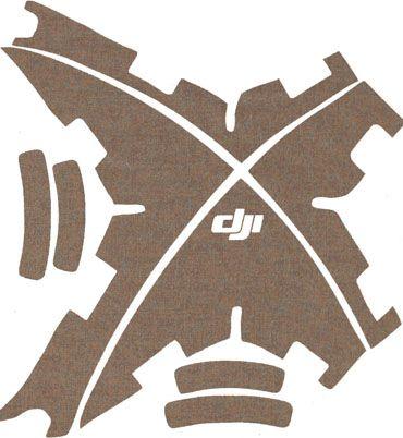 Kit décoratif DJI phantom