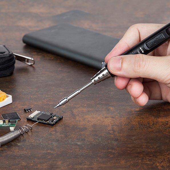 Kit Fer à souder ToolPAC TS80 avec chargeur - SainSmart