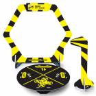 Kit Gate flag & base pour nano FPV racer jaune