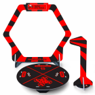 Kit Gate flag & base pour nano FPV racer rouge