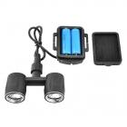 Le kit LED pour DJI Inspire 1 est alimenté par deux accus type 14500 procurant jusqu'à 8 heures d'autonomie