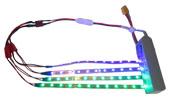Kit LED pour Quadrirotor (4 barres, 2 couleurs)