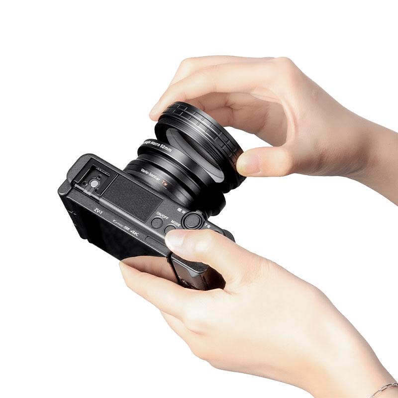 Kit macro et grand angle pour Sony ZV-1 - Ulanzi