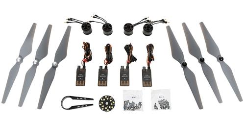 Set de propulsion DJI E305 4 moteurs 800KV+ ESC + hélices