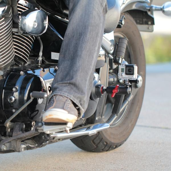 Kit ventouse articulée - Kamerar - fixation basse sur moto