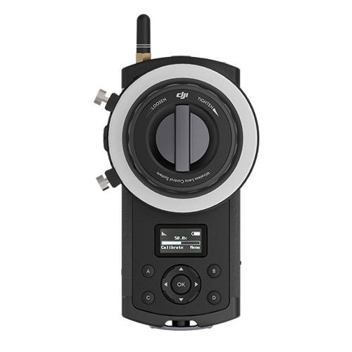 La télécommande du système Follow Focus DJI, vue de face