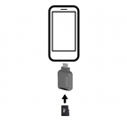 Lecteur de cartes microSD Quik Key (USB-C)