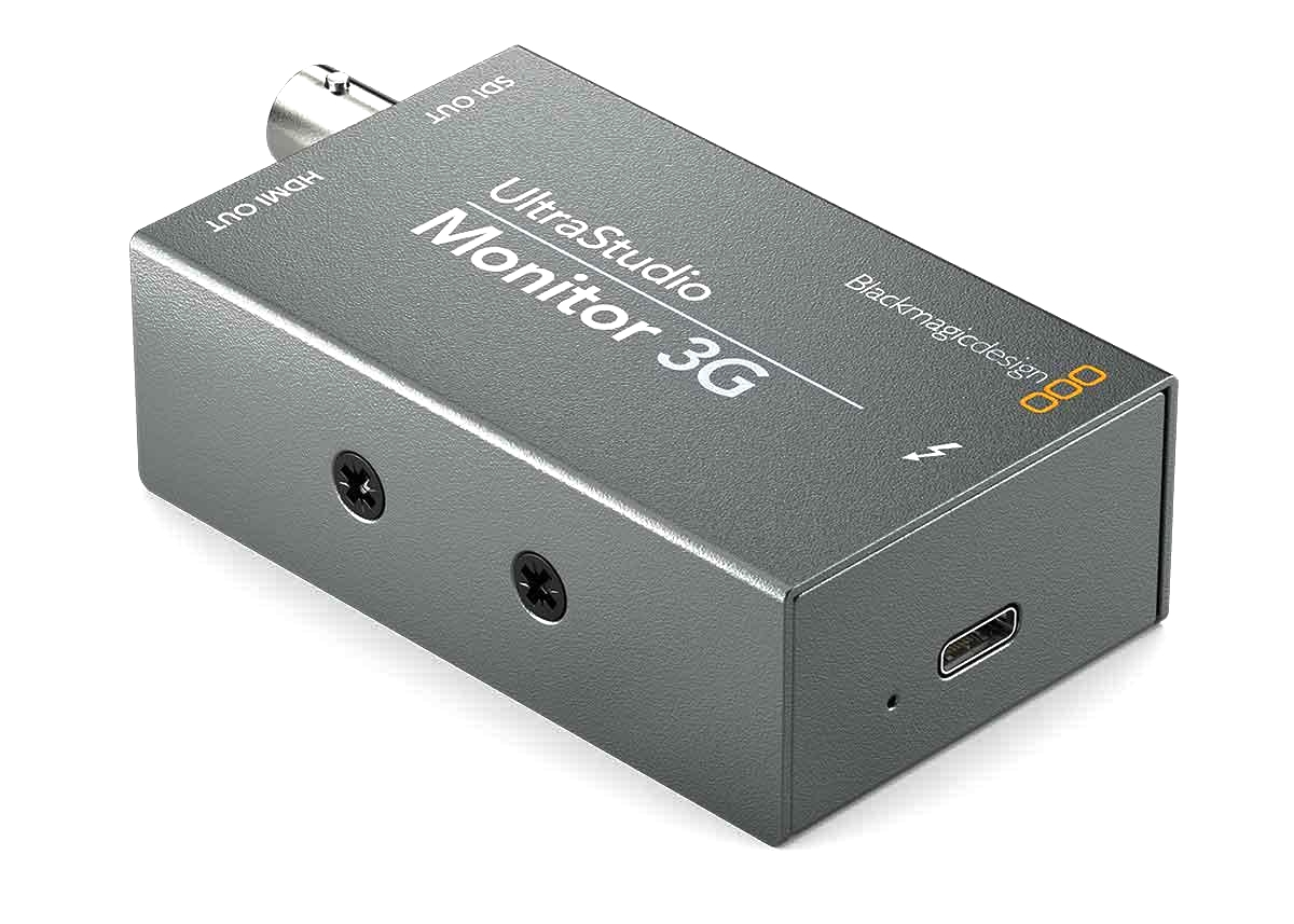 Lecteur vidéo UltraStudio Monitor 3G - Blackmagic