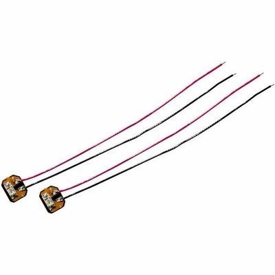 2 LEDs de remplacement pour Hubsan H107D+ & H107C+ - Rouges
