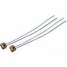 2 LEDs de remplacement pour Hubsan H107D+ & H107C+ - Bleues
