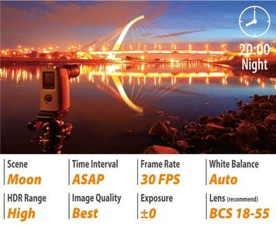 Lentille Brinno BCS 24-70 mm pour TLC 200 Pro