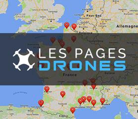 Retrouvez les centres de formation drone dans la France entière