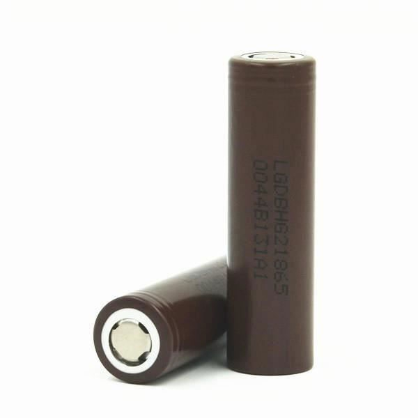 LG ICR18650-HG2 3000mAh - 20A button top