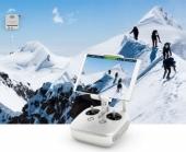 Le système propose un retour vidéo HD sans fil haut de gamme et fournit également des informations de télémétrie indispensables à la sécurité de votre vol.