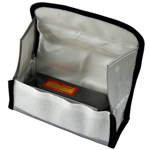 Sac de sécurité pour batterie Lipo ouvert