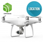 Location drone DJI Phantom 4 RTK combo D-RTK2 & Orpheon