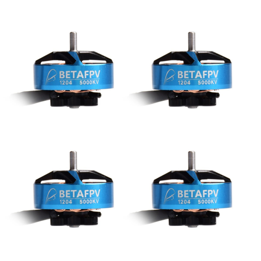 Lot de 4 moteurs 1204 5000KV Brushless - BetaFPV